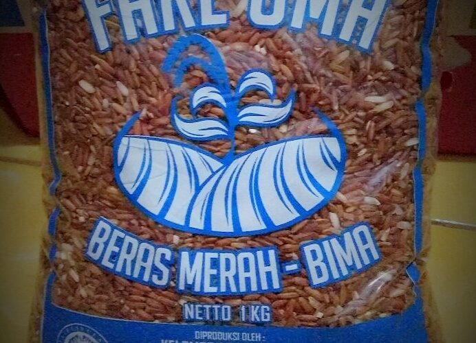 kemasan beras merah fare oma